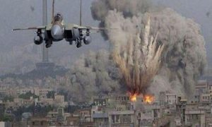 The Israeli bombing a a Syrian military installation threatens to escalate the Syrian Civil War to a dangerous level.