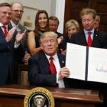 "President Donald Trump signed an exectuivwe order on Thursday amending several provisions of the Affordable Care Act (""Obamacare"") ."