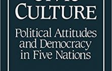 """Theories of Democratic Transitions: """"The Civic Culture"""""""