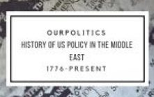 History of US Policy In The Middle East