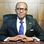 Muhammadu Buhari is the current President of Nigeria and was first elected in 2015.
