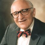The economist Murray Rothbard (1926-1995) is widely considered to be one of the major figures behind the development of right-libertarianism.