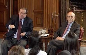 """Antonin Scalia and Stephen Breyer Debate the Constitution"" Video Response"