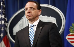 Former Deputy Attorney General Rosenstein To Testify In Senate Regarding Trump-Russia Probe